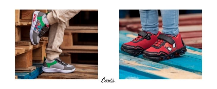 Winter footwear collection for kids