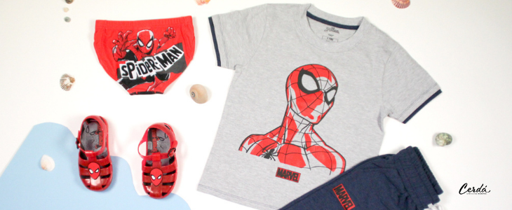 spiderman products for summer