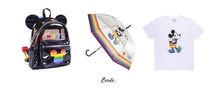 Productos pride de Disney