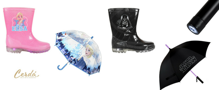botas frozen y star wars