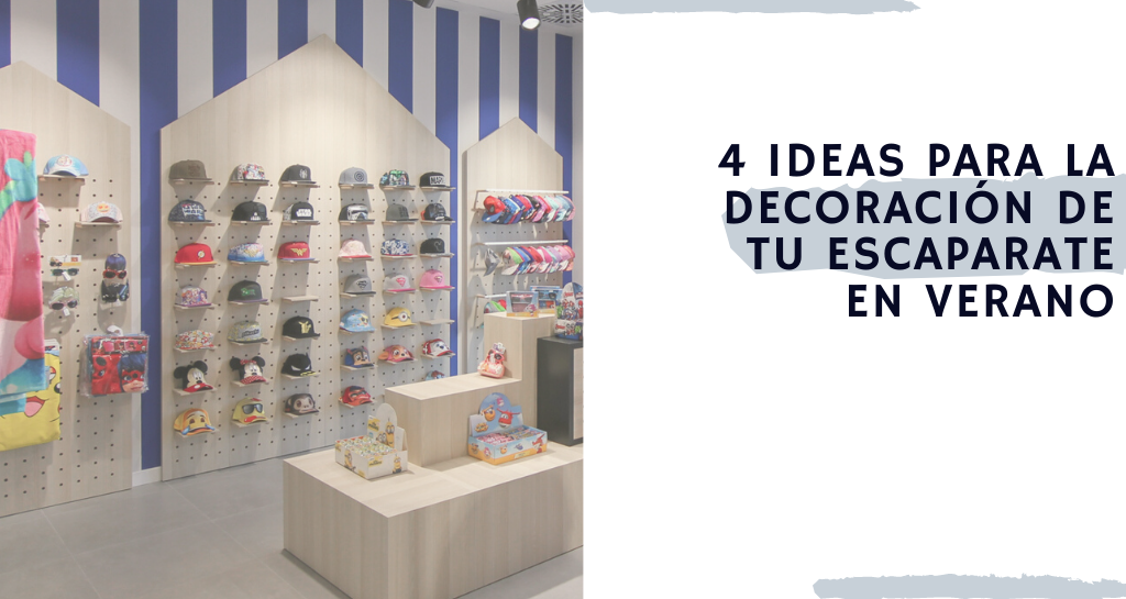 4 ideas para la decoración de tu escaparate en verano