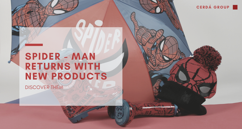 Your friendly neighborhood spider-man returns with new products. Discover them!