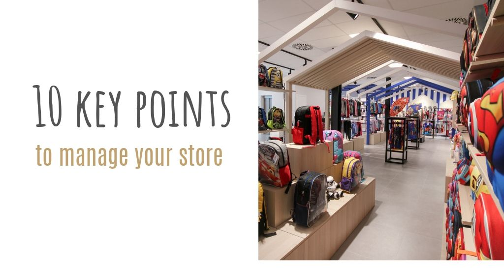 10 Key points from Cerdá advisors to manage your store