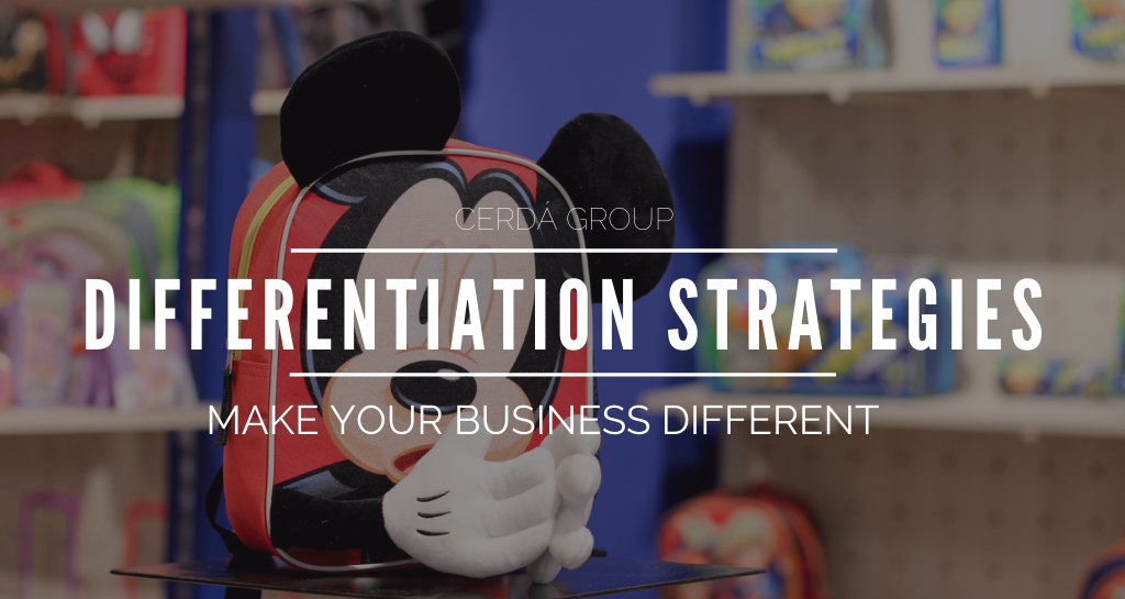 Make your business different with differentiation strategies