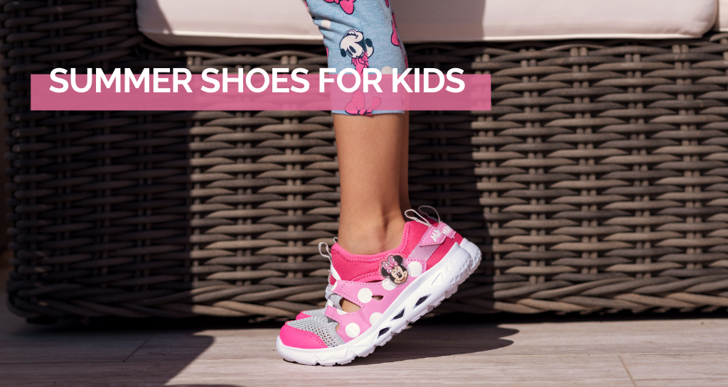 Summer shoes for kids. Discover the trends of 2021!