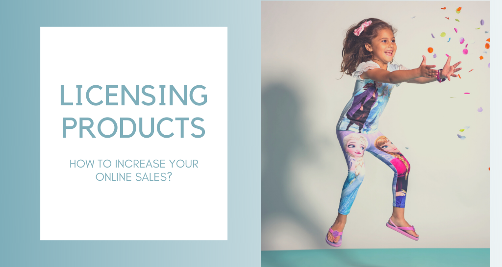 How to use licensing products to increase your online sales?