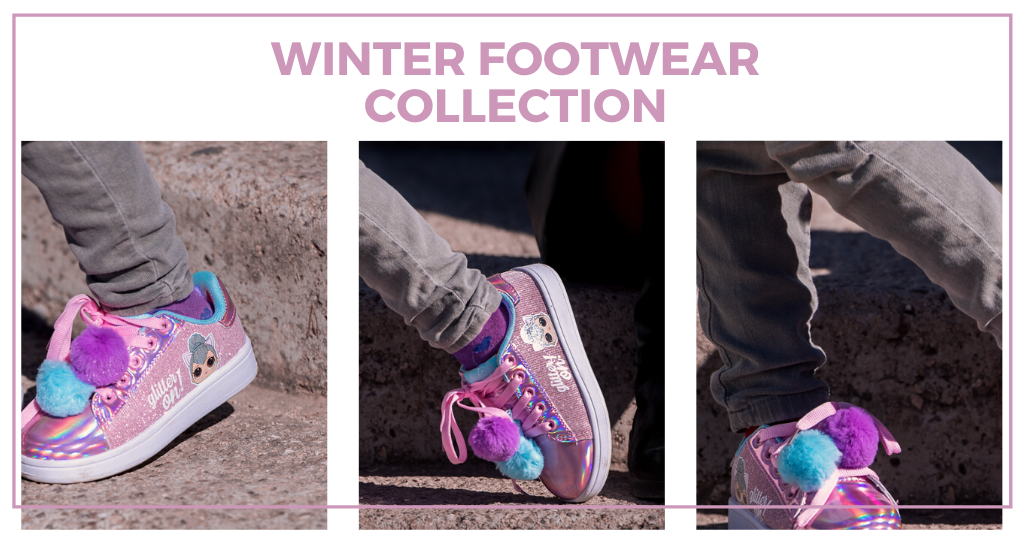 Cerdá presents its winter footwear collection. For all ages and tastes!