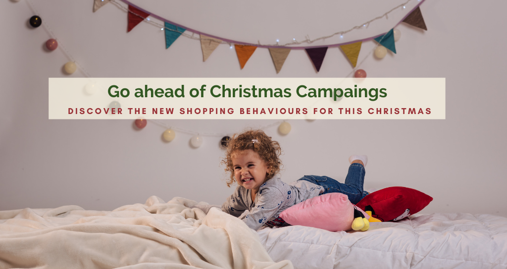 Prepare your business for christmas campaign. Discover the new shopping behaviours for this Christmas