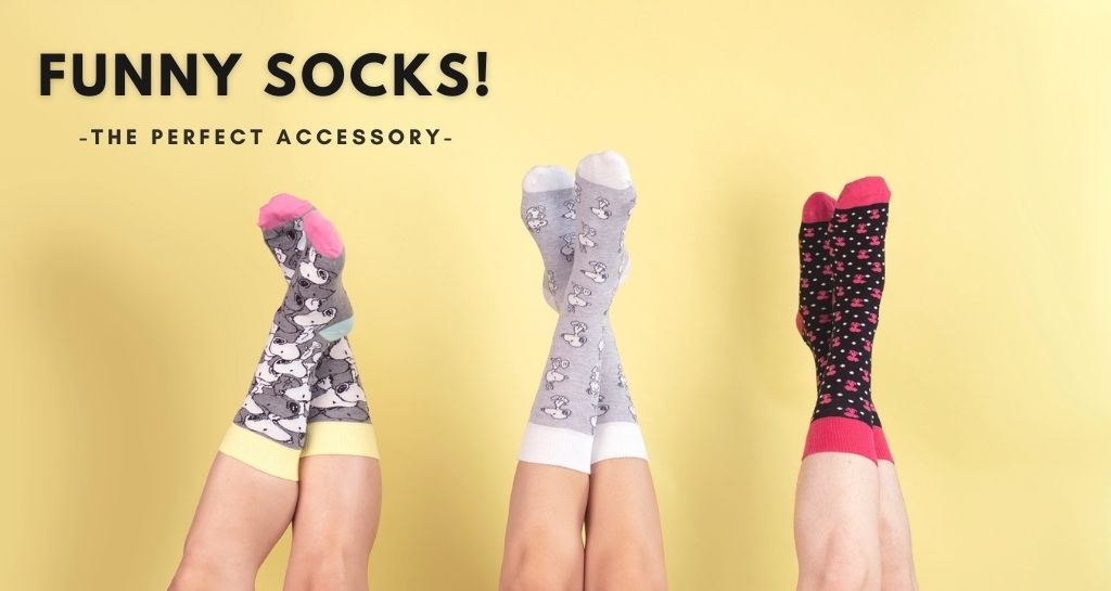 The perfect accessory for your clients: funny socks