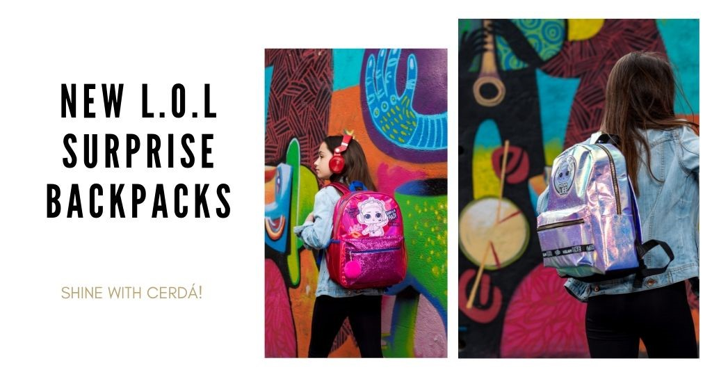 New L.O.L surprise backpacks to shine by Cerdá