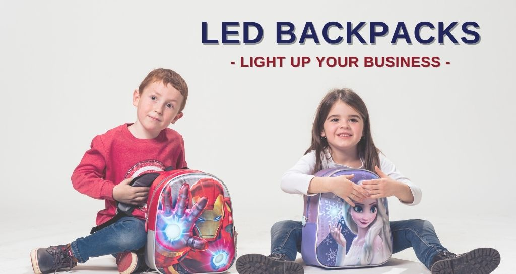 Give light to your business with led backpacks!