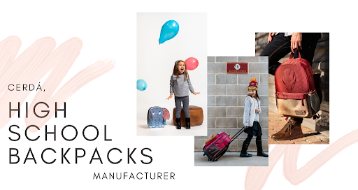 Cerdá: high school backpacks manufacturer